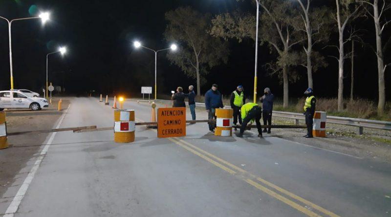 Cuarentena: La Pampa cerró este martes siete puestos camineros