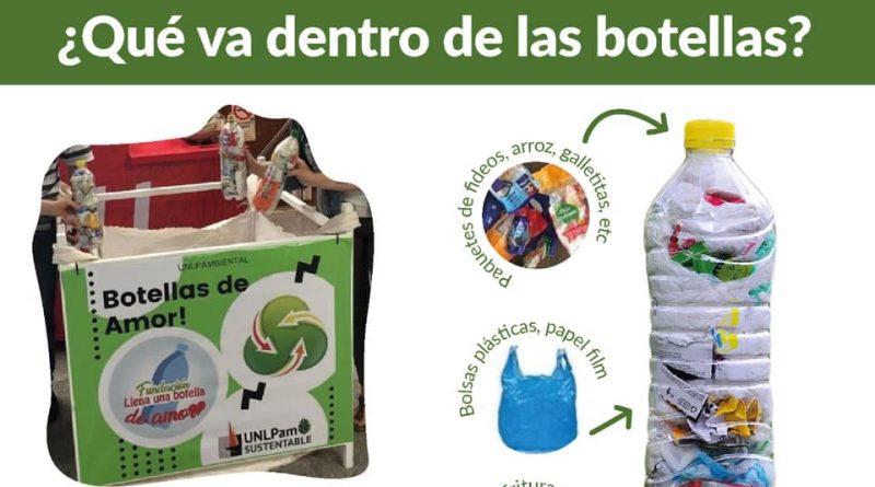 Ingeniero Luiggi: El Gobierno Local  se suma al proyecto «Botellas de Amor».