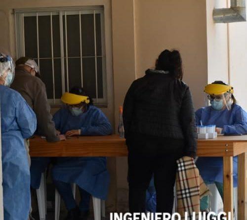 COVID-19: 340 nuevos casos en La Pampa, 4 en Ingeniero Luiggi.