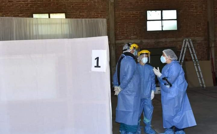 COVID-19: Hoy se detectaron 168 casos en La Pampa, Ingeniero Luiggi no hubo nuevos casos y continúa con 45 casos.